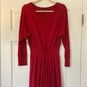 Torrid Red Sweater Dress